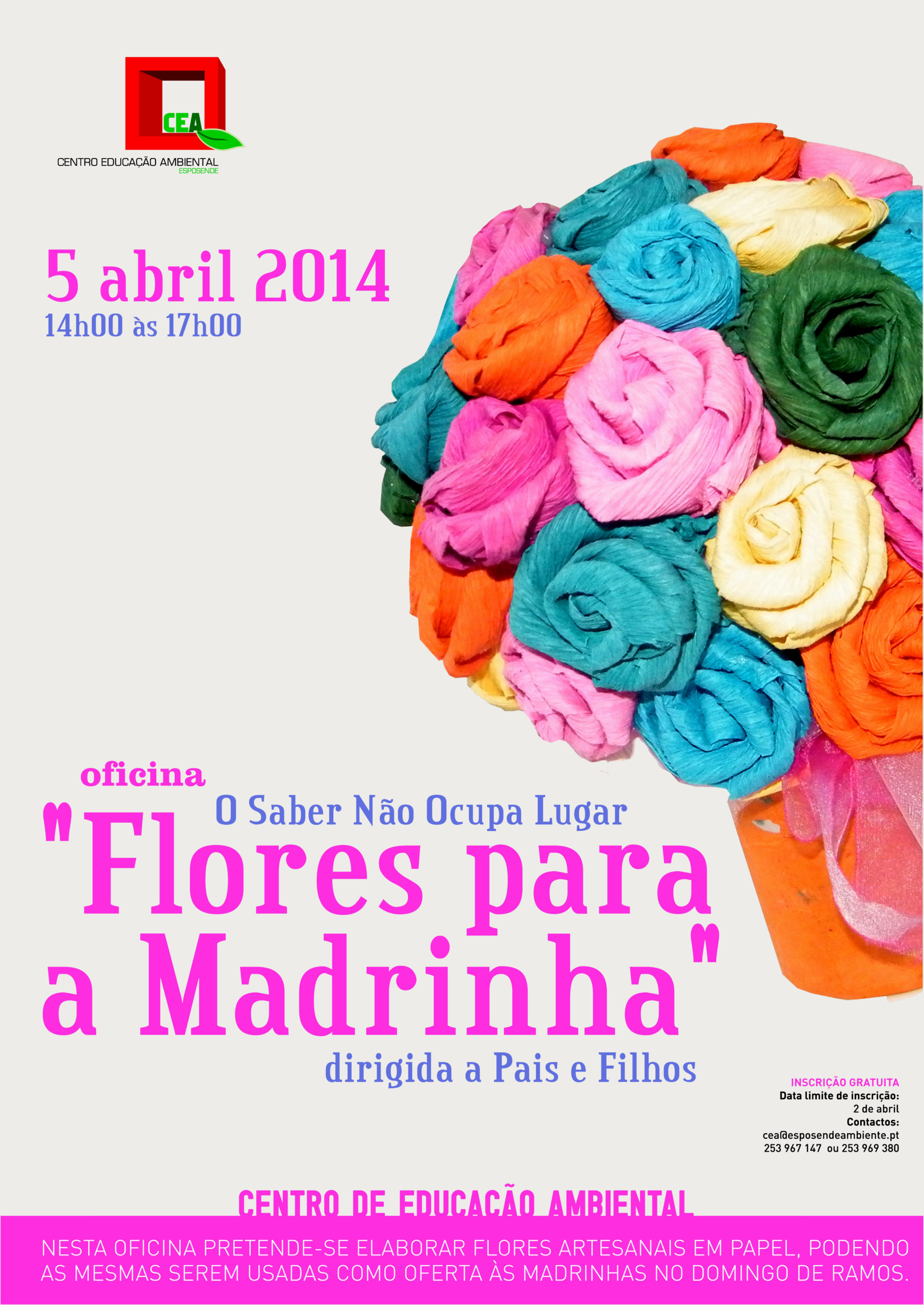 Flores para a madrinha